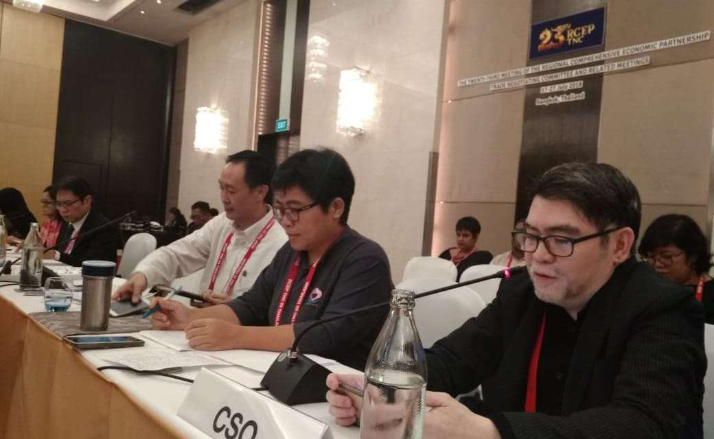 RCEP: Corporate capture on a grand scale