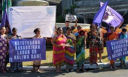 Indigenous women mark March 8 protesting dam project