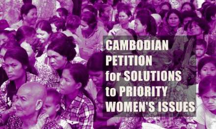 Cambodia: Petition for Solutions to Priority Women's Issues
