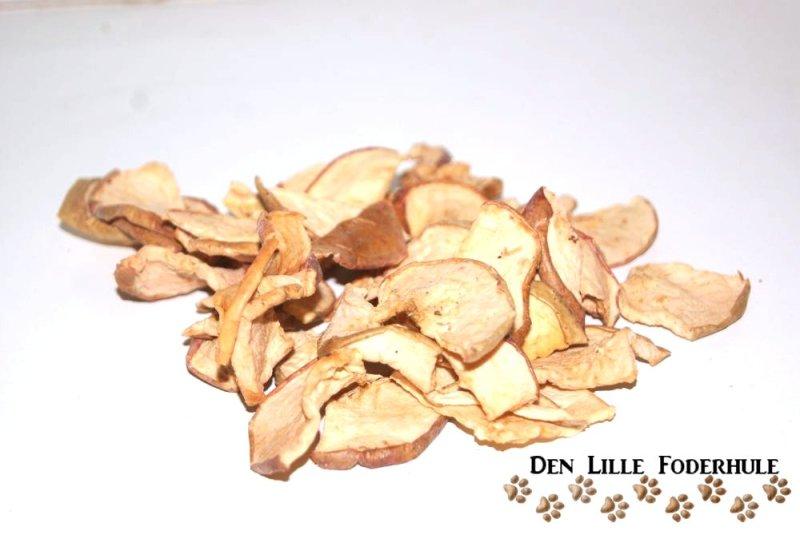Tørret æble - til marsvin, kaniner og andre smådyr og gnavere - Den Lille Foderhule