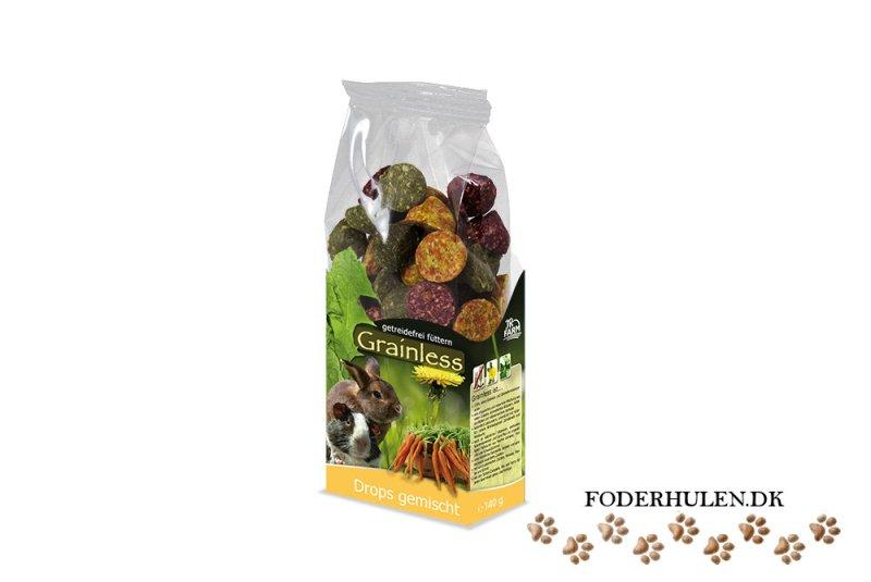 JR Farm Grainless Drops mix - Foderhulen.dk