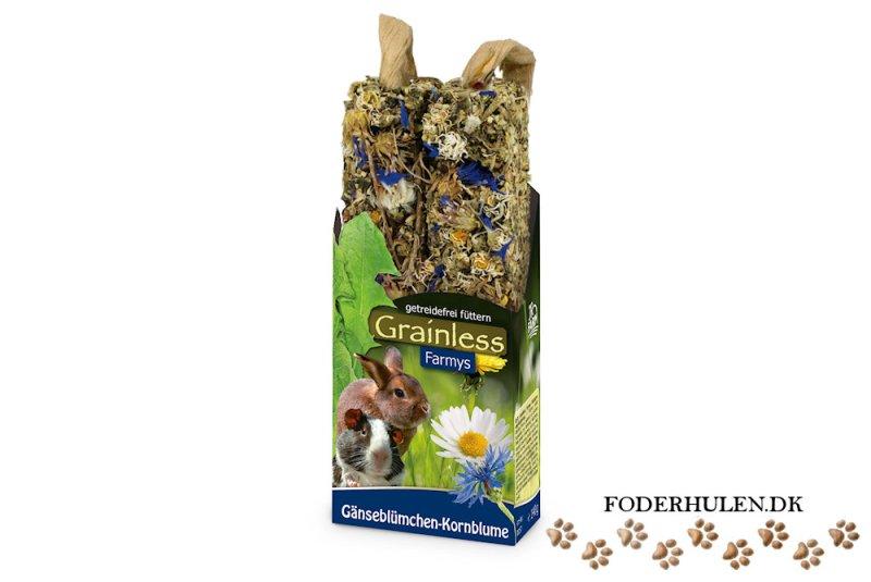 JR Farm Grainless Farmys Marguerit/Kornblomst - Foderhulen.dk