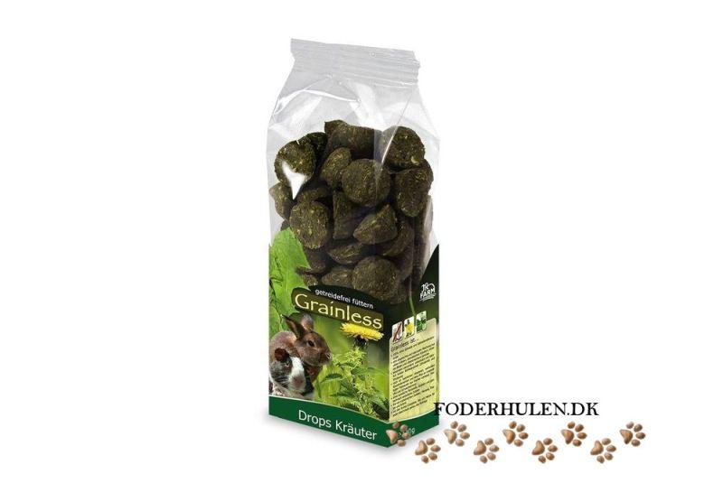 JR Farm Grainless Drops med urter