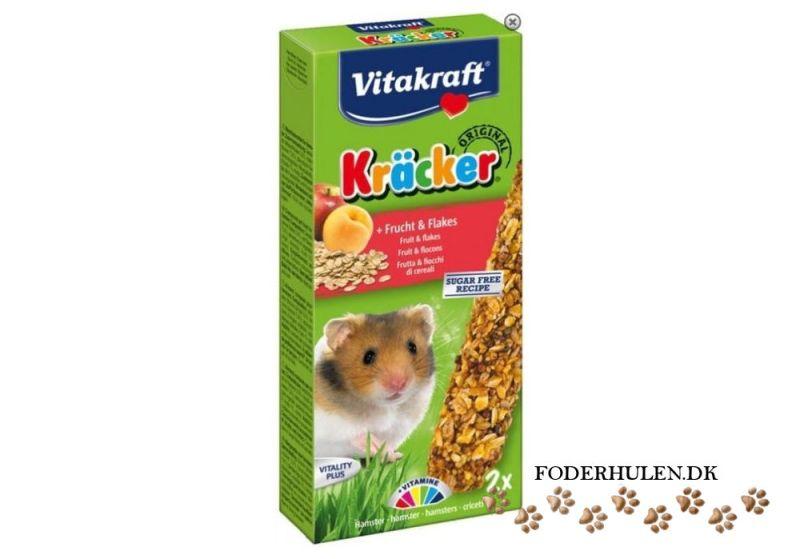 Vitakraft kräcker til hamster med frugt og kornflager