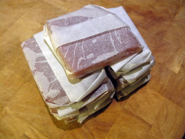 Pakket i små pakker, parat til fryser