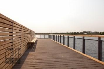 LGS - auf dem Steg am See