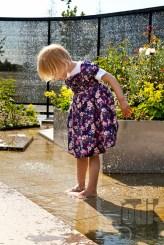 Wasserspiel im Premiumgarten