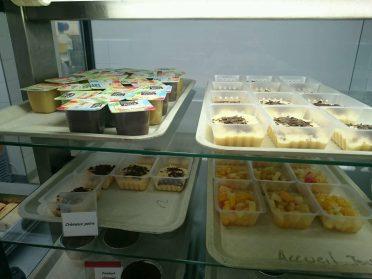 2016.06.20 Desserts compotes, crèmeux poire, salade de fruits