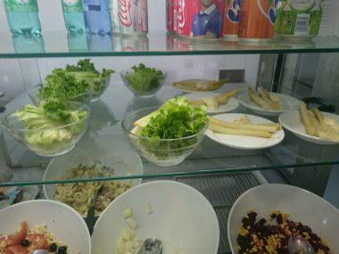 2016.06.21 entrées,salade verte, asperges