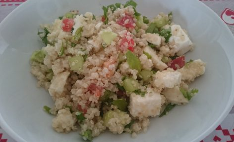 Taboulé de quinoa pauvre en FODMAP 3 bis