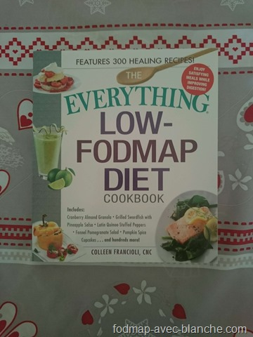 Everything low FODMAP diet cookbook