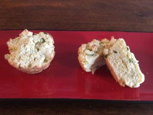 Low-FODMAP Herb and Parmesan Muffins