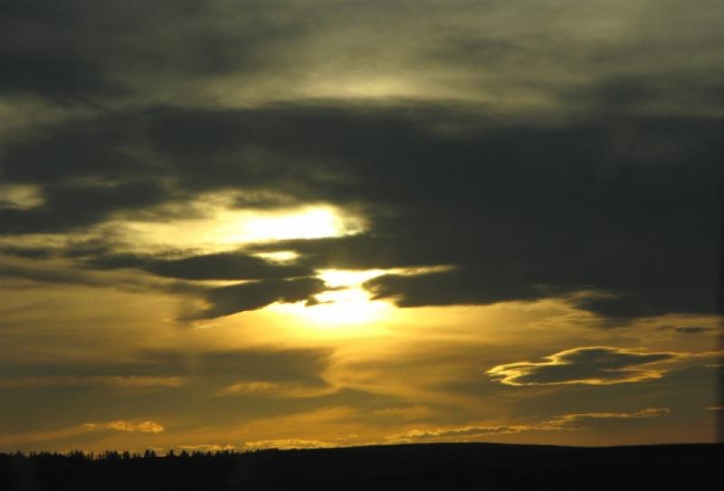 Beautiful Albertan Sunset