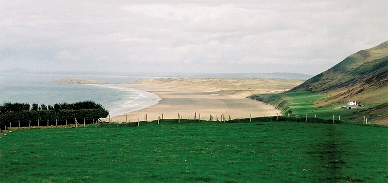 Gower Peninsula (Welsh: Gŵyr) - The Gower Peninsula is located on the south west coast of Wales, on the north side of the Bristol Channel in the southwest of the historic county of Glamorgan.