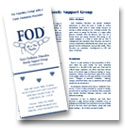 Thumbnail of the FOD Family Support Group brochure