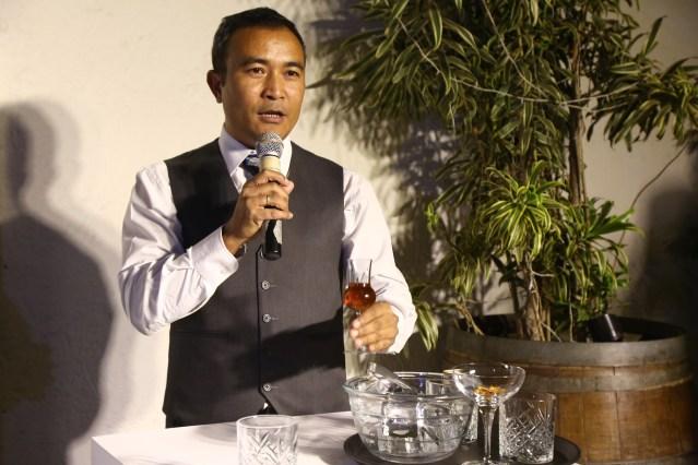 Mixologist Yangdup Lama
