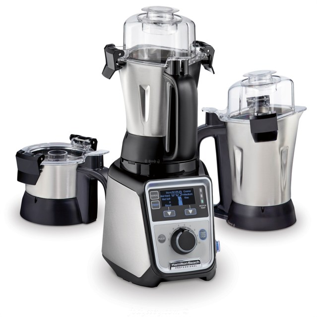 Hamilton Beach Professional Juicer Mixer Grinder -side angle