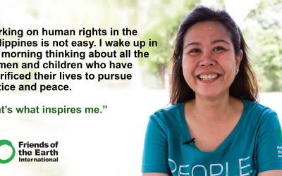 Recognise, Respect and Protect  Environmental Human Rights Defenders