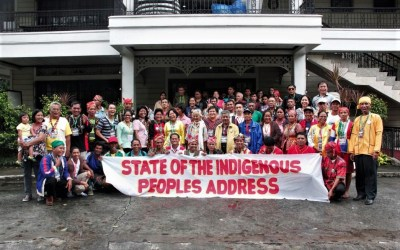 Stop the violence against Indigenous Peoples;  Recognise and Protect the rights of Indigenous Peoples