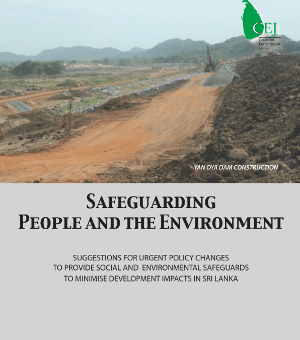 Safeguarding People and Environment