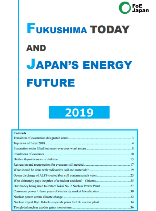 Fukushima Today and Japan's Energy Future 2019