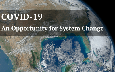 COVID-19: An Opportunity for System Change