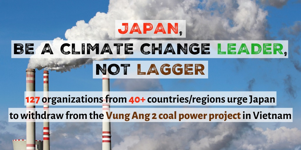 Japan must not support Vung Ang 2 Coal Power Plant in Vietnam