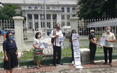LRC files petition on behalf of indigenous peoples against Anti-Terrorism Law