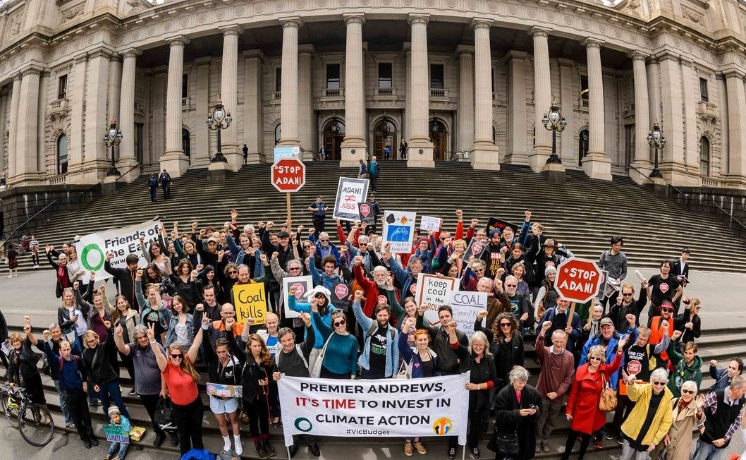 Campaigning to make Victoria a Climate Action Leader