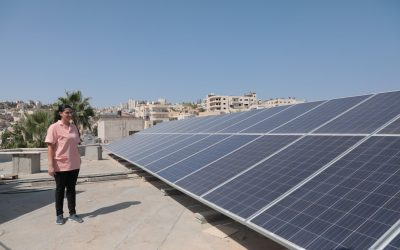 Female empowerment: Women are helping to generate clean energy in the besieged Gaza Strip