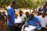 Community scorecard on service provision by local government, at Likpe Koforidua, VR