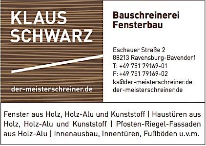 Vorlage Schwarz Bavendorf