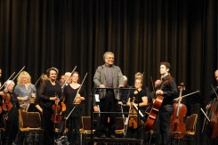 Michael Küßner dirigierte das Collegium Musicum