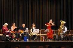 """Jutta Mensing und die """"Musiker der verstaubten Instrumente"""""""