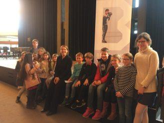 Gemeinsam mit der Dirigentin des Beethoven Orchesters Bonn, Carolin Nordmeyer