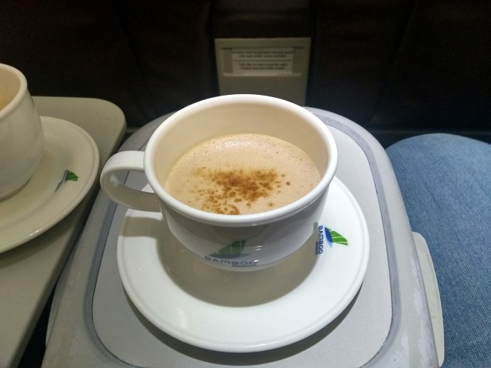 Bamboo Airways Cappuccino