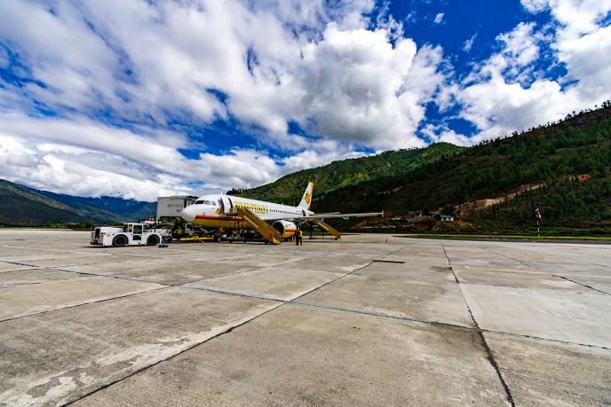 Touching Down in Bhutan