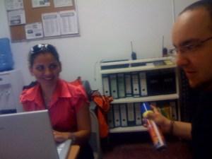 En La Office