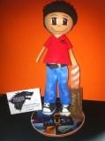 Fofucha personalizada Javi. 25 cm