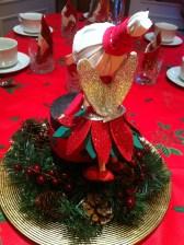 Fofucha centro de mesa Navidad