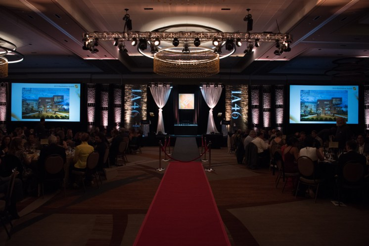 IES Awards stage