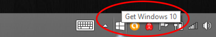 Get Windows 10 notification in Windows