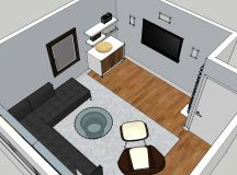 Small Tv Room Design. Perfect Medium Size Of Modern Tv ...