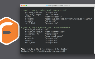 Infrastructure as Code in Google Cloud