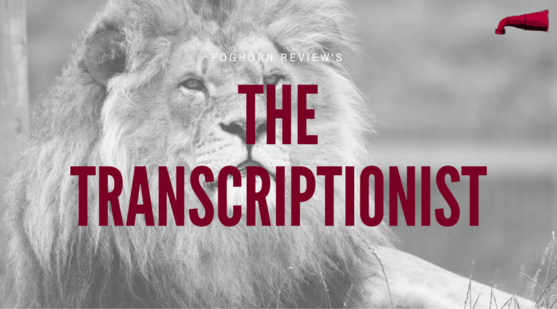 The Transcriptionist Book Review
