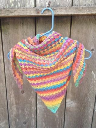 scarf crochet scarf triangle scarf