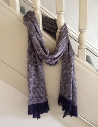 wrapped in lux stole lace lux knit scarf