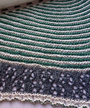 knit shawl bulky shawl bulky wt shawl lace edge shawl lace border