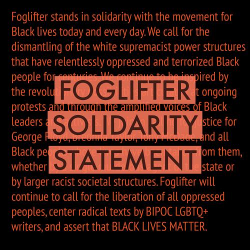 Foglifter Solidarity Statement