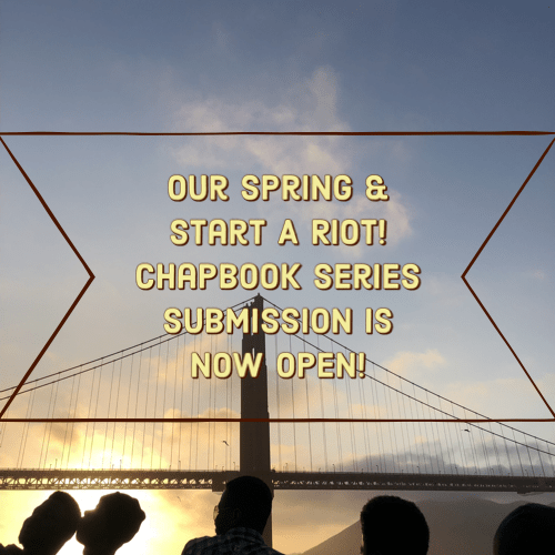 [CLOSED]SUBMISSIONS TO FOGLIFTER JOURNAL & START A RIOT! CHAPBOOK PRIZE ARE NOW OPEN